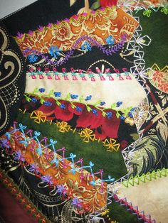 Greetings from the Shady Grove: Crazy Quilt Update and A Fabulous Surprise For Me