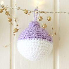 Christmas is almost here, and what better way to get in that holiday spirit than crocheting your own ornaments! If you've always wanted to learn how to crochet, follow our series of Crochet Fundamentals. This pattern uses US terms and stitches include single crochet (sc). | Difficulty: Beginner; Length: Short; Tags: Crochet, Decorations