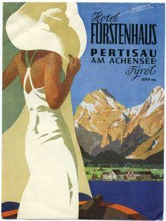 Hotel Furstenhaus ~ Pertisau am Achinsee _____________________________ Tyrol ~ Austria