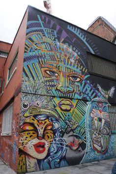 Arte en las calles de Bogotá