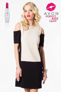 AVON - Perfect Kiss Perfect Dress Milla by Trendyol Siyah Elbise MLWAW123462 %61 indirimle 49,99 TL Trendyol'da