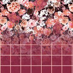 Floral Xadrez....