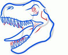 Marvelous Drawing Animals In The Zoo Ideas. Inconceivable Drawing Animals In The Zoo Ideas. Step By Step Painting, Step By Step Drawing, Animal Faces, Animal Heads, Drawing For Kids, Art For Kids, Kid Art, Kids Fun, Dinosaur Head