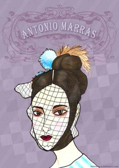 antonio marras, f/w 2016, fashion illustration by bonnie.w