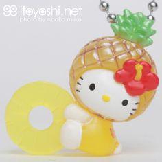 itoyoshi's Gotochi Kitty collection NO.1674 Okinawa limited Pineapple Hello Kitty