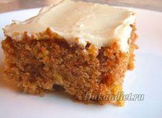 Морковный торт | Диета Дюкана