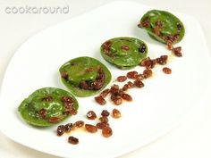 Tortelli verdi di anatra con uvetta e marsala: Ricette di Cookaround   Cookaround