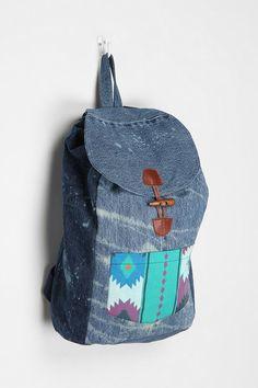 SNAP x Urban Renewal Patchwork Backpack