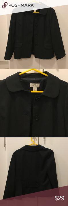 Ann Taylor Loft Black Blazer 💐 Ann Taylor Loft Black Blazer 💐. Excellent preowned condition!  66% polyester 32% rayon 2% spandex LOFT Jackets & Coats Blazers