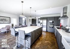 Tony Holt Design : Contemporary Self Build Bungalow Remodel - Kitchen Home Renovation, Home Remodeling, Bungalow Homes, House Extensions, Bespoke, Luxury Homes, Kitchen Remodel, Building A House, New Homes