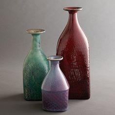 Stig Lindberg, Stig Lindberg for Gustavsberg collection of three bottles glazed stoneware.