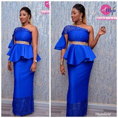 African Print Dresses, African Print Fashion, African Wear, African Dress, African Outfits, African Style, I Dress, Peplum Dress, African Jumpsuit
