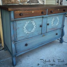 Please vote for my Antique Empire Buffet with bondo raised stencil on the General Finishes 2016 Design Challenge Furniture Update, Grey Furniture, Furniture Makeover, Dresser Makeovers, Furniture Design, Furniture Projects, Painting Antique Furniture, Chalk Paint Furniture, Colorful Dresser