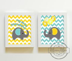 Elephant  Nursery  Decor  Nursery or Toddler Room by MuralMAX, $35.00