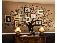 Kind of old but I've always wanted a tree of life events wall decor, maybe on a family room