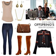 How to dress like Offspring's Nina Proudman | Series 6 Episode 4 | Styling You Her Style