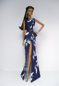WILD BIRD Silk Dress Set for Fashion Royalty Agnes Nu Face Dolls | eBay