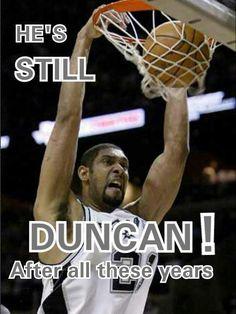 Spurs Tim Duncan! I met him at a burrito stand in San Antonio
