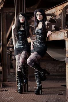 I would love to have these outfits.  and the boots are amazing