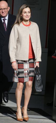 La Reina Letizia en la Federación Española de Enfermedades Raras (FEDER) fd22e97342ec