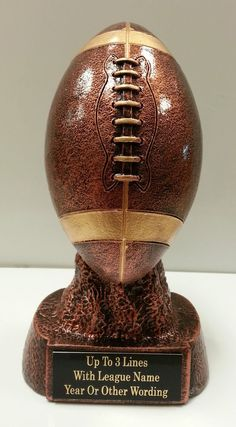 Fantasy Football Trophy - 1st Place - ENGRAVED FREE - SPEEDY Shipping #SpeedyAwards