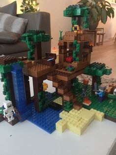 22.63$  Buy now - http://ali8tp.shopchina.info/go.php?t=32791068617 - Model building kits compatible with lego my worlds Minecraft The Jungle 116 Tree House model building toys hobbies for children  #shopstyle