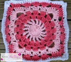 Knot Your Nana's Crochet: Granny Square Crochet Along Revisited (Week Twenty Five)