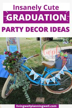 Need graduation party inspiration? We have the most adorbable ideas for graduation party invites, graduation party ideas for food and decor. Graduation Party Desserts, Outdoor Graduation Parties, Graduation Party Planning, College Graduation Parties, Graduation Party Invitations, Invites, Theme Ideas, Party Ideas, Party Planning Checklist