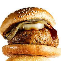 BBQ Turkey Burgers - 31 Quick-and-Easy Fat-Burning Recipes - Health.com