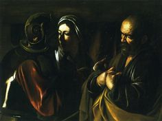 1610 Denial of Saint Peter - Caravaggio