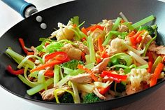 This delicious and nutritious stir fry is the perfect weeknight meal!