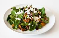 Cranberry Spinach Salad with True Orange Vinaigrette