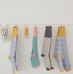 Catherine Tough handmade lambs wool cosy socks 20% off