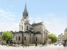 Brive-la-Gaillarde-our church