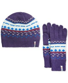 Helly Hansen Women's Frost Heritage Beanie and Mittens Set