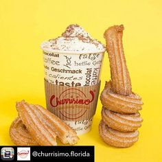 Repost from @churrisimo.florida using @RepostRegramApp - Good morning #churrisimolovers😊 the best way to spend a #sunday is eating #churros at the beach!! Come today and get yours🥖🥖🍨 #churros #gelato #popsicles #hollywoodbeach #sundayfunday #cheatday (at Hollywood Beach)