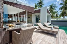 Le complexe Mandala Beach Villas à Koh Samui en Thaïlande
