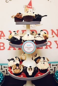 A cuddly & adorable puppy birthday party!
