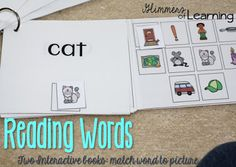 I love this product because it is differentiated. All students will be able to participate in the same activity but at different levels! Each pack comes with 12 different interactive books and 8 black and white books which are great for morning work, centers, literacy groups, free time!