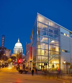 The state capital tempts with locavore eateries, outdoor rec, museums—and Badger fandom.