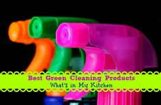 Best green cleaning products #ecofriendly