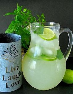 Refreshing Mojito by the Pitcher