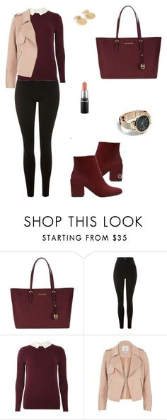 """Untitled #1554"" by mariafilomena471 ❤ liked on Polyvore featuring Michael Kors, Topshop, Dorothy Perkins and River Island"