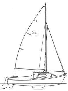 Topaz (Newbridge) drawing on sailboatdata.com