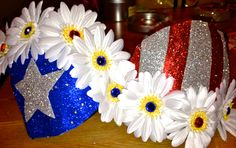 Customize your own American flag rave bra. $55.00, via Etsy. I couldn't not pin this...