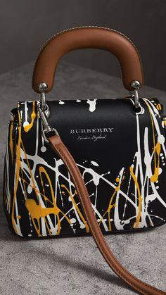 The Small Splash Top Handle Bag in Black - Women Fashion Handbags, Purses And Handbags, Fashion Bags, Luxury Purses, Luxury Bags, Trendy Purses, Fab Bag, Tote Backpack, Look Fashion