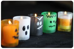 Cute Halloween Candles