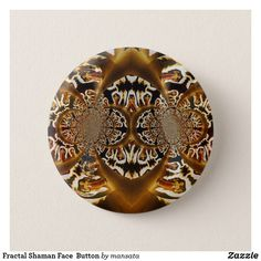 Searching for that perfect gift? Zazzle have the perfect abstract gift for any occasion. Explore our fab gifts today! Mandala Art, Fractals, Badge, Art Drawings, Cute Animals, Button, Design, Pretty Animals, Cutest Animals