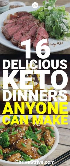In this post, we are going to tell you 16 dinner recipes that anybody on a keto diet can use and enjoy.