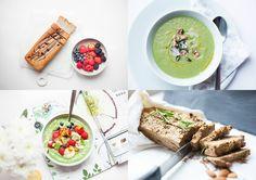 VUODEN AIKANA ENITEN KÄYTÖSSÄNI OLLEET RESEPTINI: Gluteeniton banaanileipä, Vihreä kasvissosekeitto, Vihersmoothie bowl ja Viljaton siemenleipä